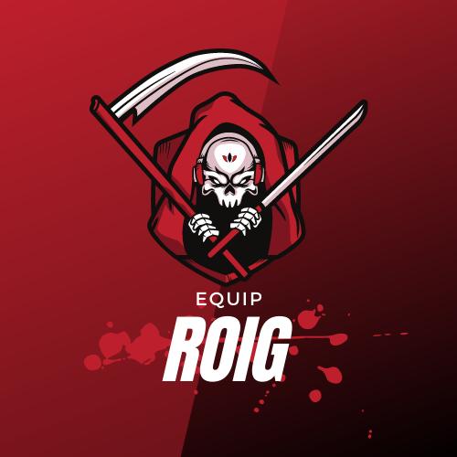 Badge equip roig