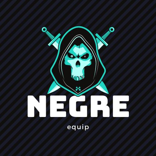 Badge equip negre